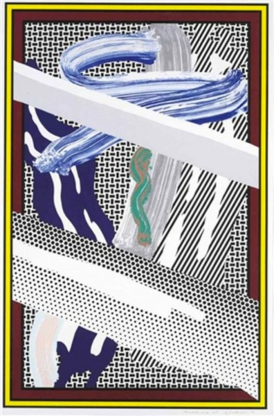 Roy Lichtenstein, Reflections on Expressionist Painting, 1990