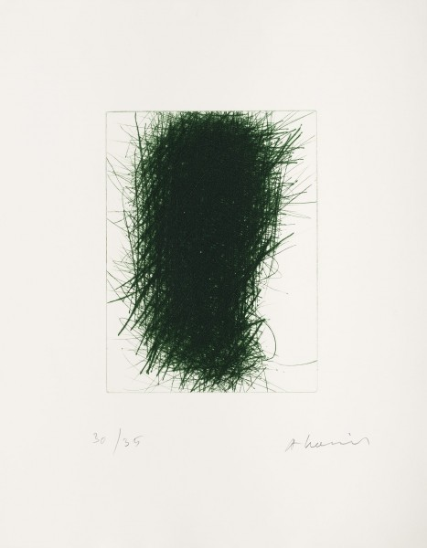 Arnulf Rainer, Der Grüne Wächter (The Green Guard), 1990