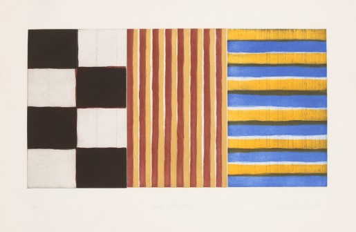 Sean Scully, Black Red Blue, 1994