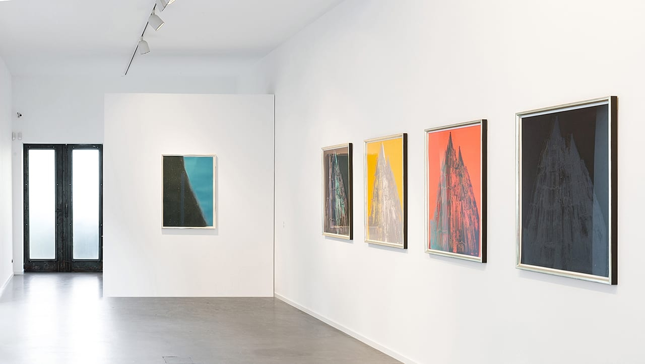 Installation view of Andy Warhol: 90 Years at the Kunsthalle Koidl, 2018.