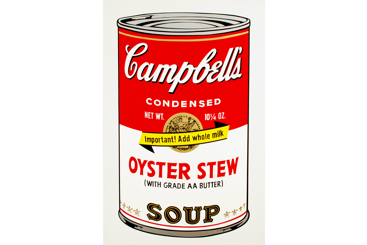 Andy Warhol, Oyster Stew, 1969, Color screenprint, Signed by the artist, Edition of 250