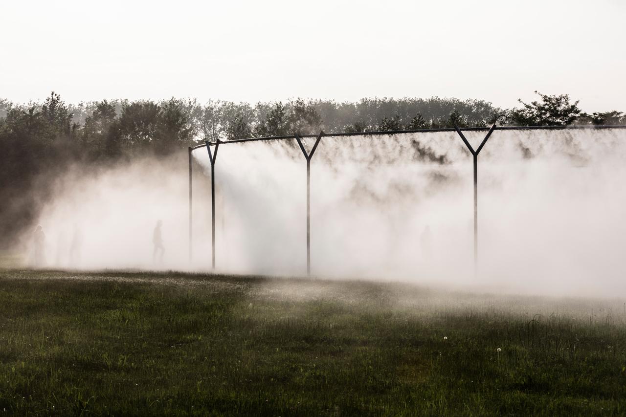 Olafur Eliasson, Fog Assembly, 2016, Installation