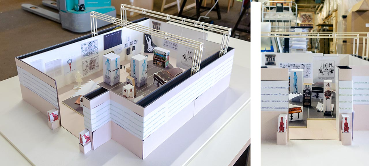 Booth concept in detail. Image: © Petrov Ahner