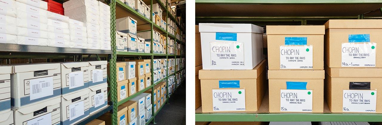 Henri Chopin, multiple boxes. Images: @ Petrov Ahner