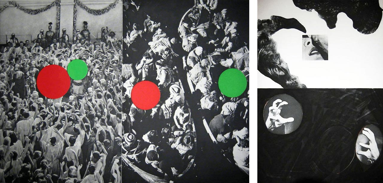 John Baldessari, Hegel's Cellar Portfolio (Suite of 10), 1986