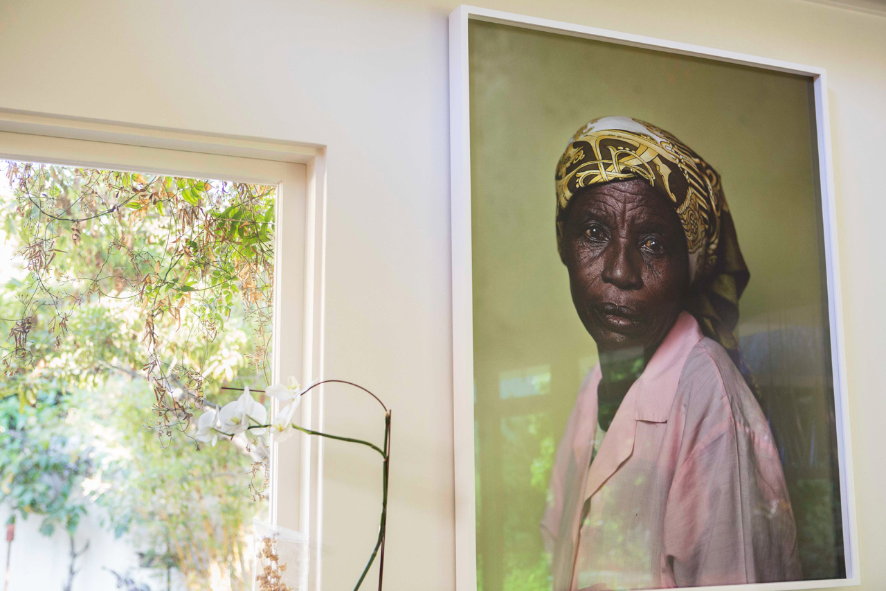 A photograph by Pieter Hugo—one of Kai's favorite works