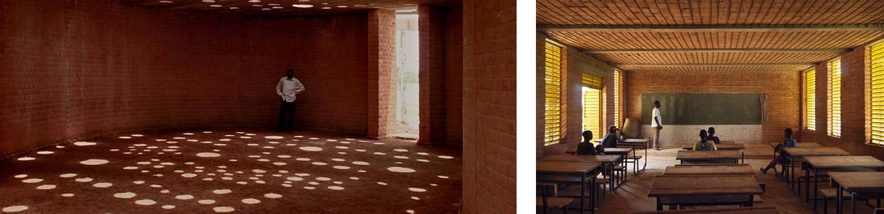 Gando Primary School designed by Francis Kéré, Gando, Burkina Faso, 2001. © Enrico Cano