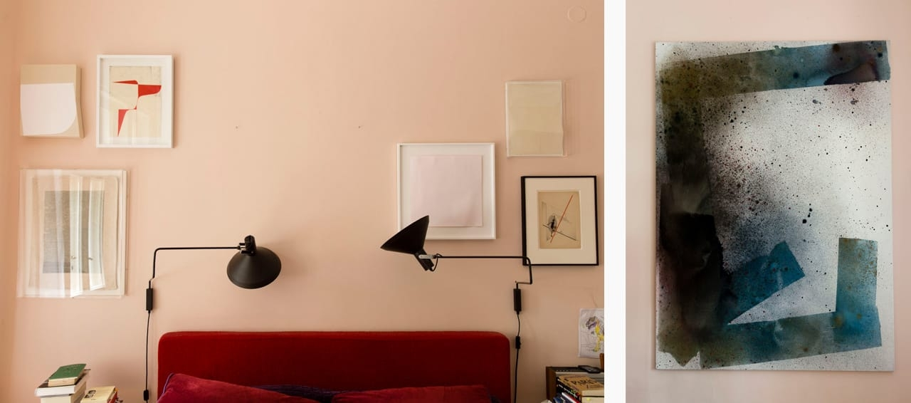 On the left: works by Haleh Redjaian, Katrin Bremermann, Fiene Scharp, Franz Ehrlich. On the right: a work by Max Frintrop. Images: © Petrov Ahner