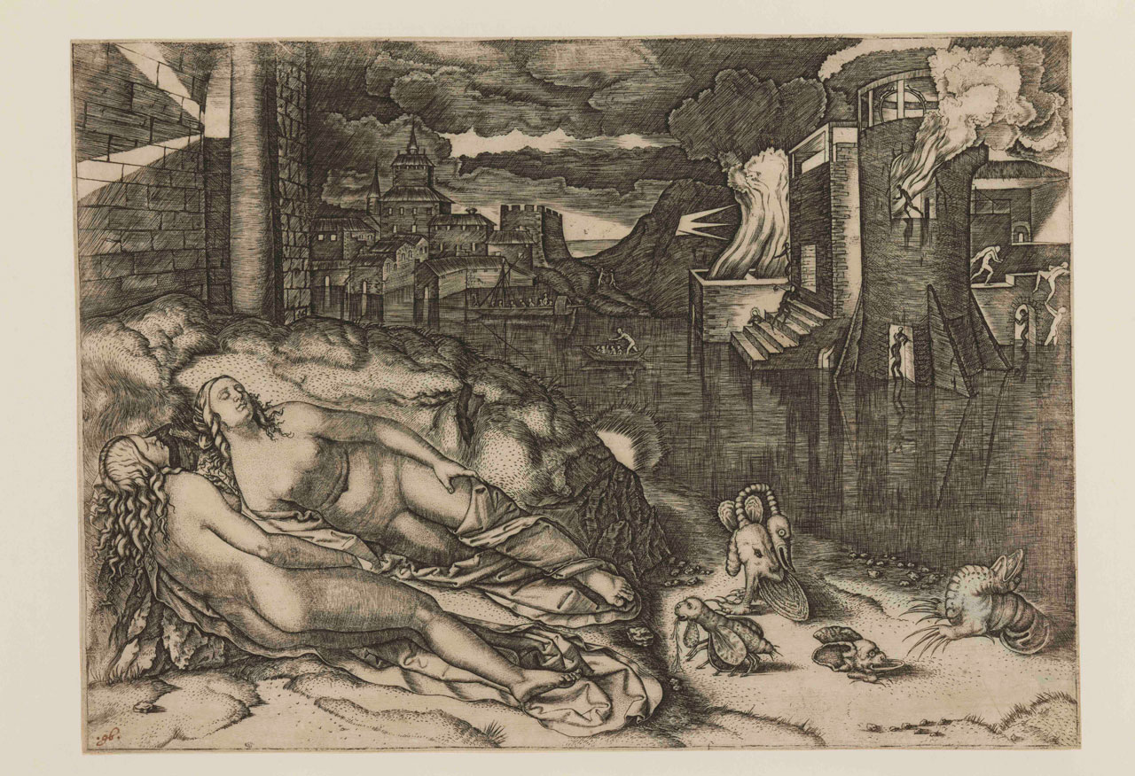 Marcantonio Raimondi, The Dream
