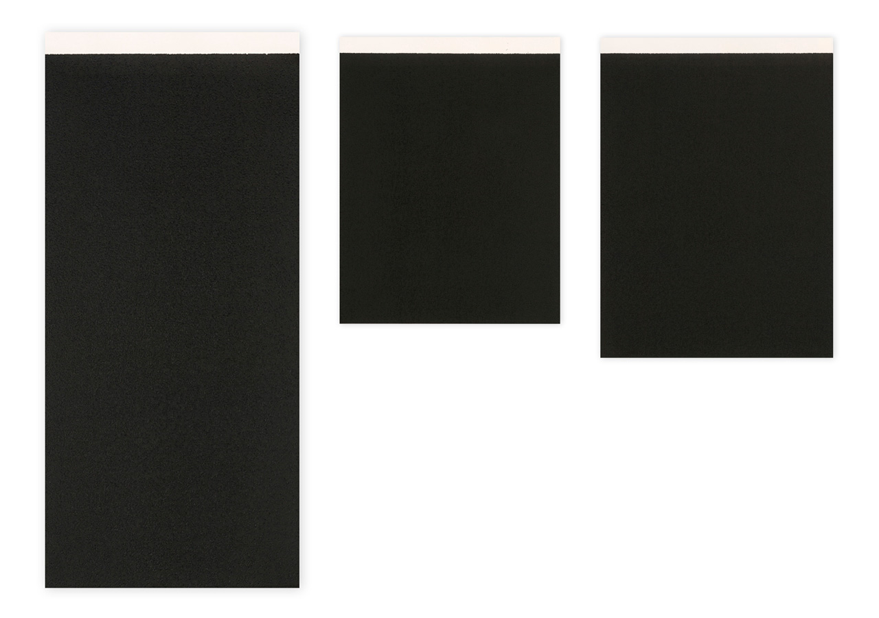 Richard Serra, Ballast #I, II, III, 2010, Etchings