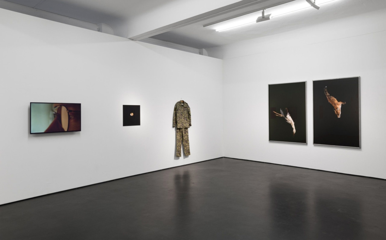 Installation view of the current exhibition Accrochage, May 1, 2020 - Jun 6, 2020 at Alexander Levy, Berlin. Image: Courtesy of Alexander Levy