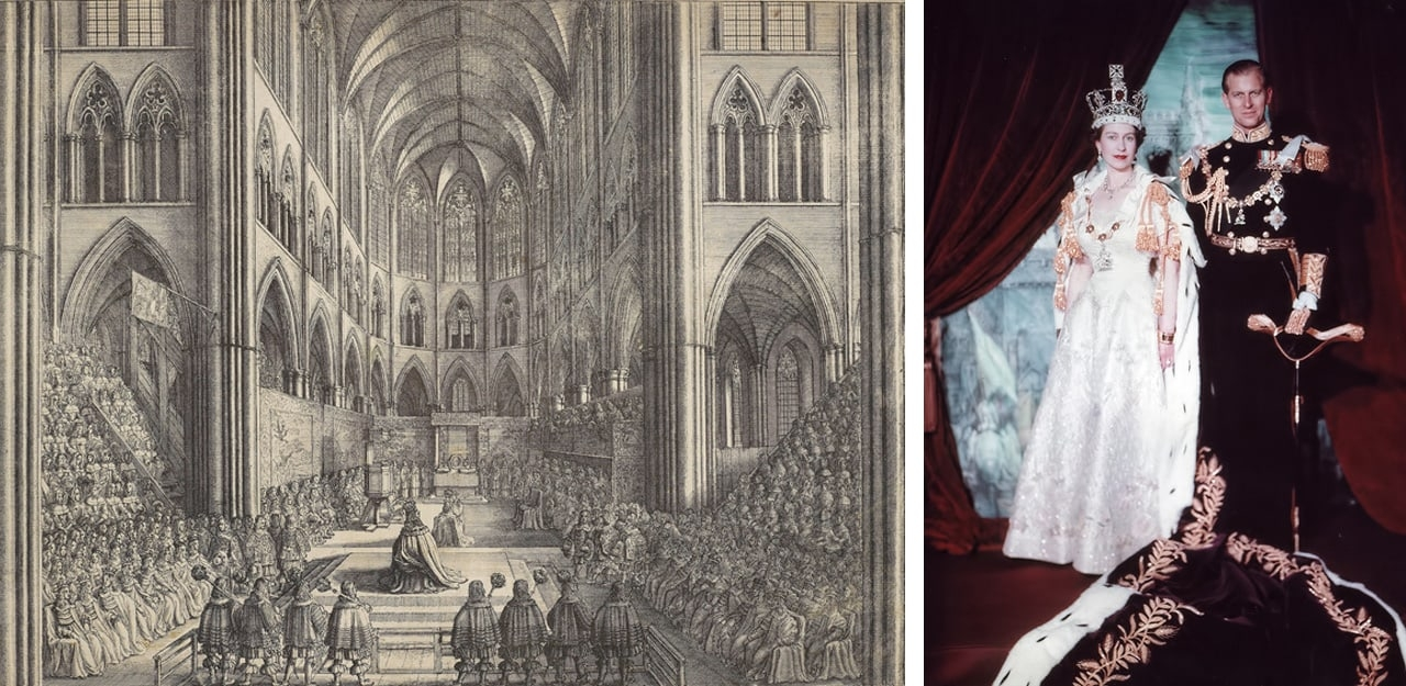 Wenceslaus Hollar, The Coronation of King Charles the II in Westminster Abbey the 23 of April 1661