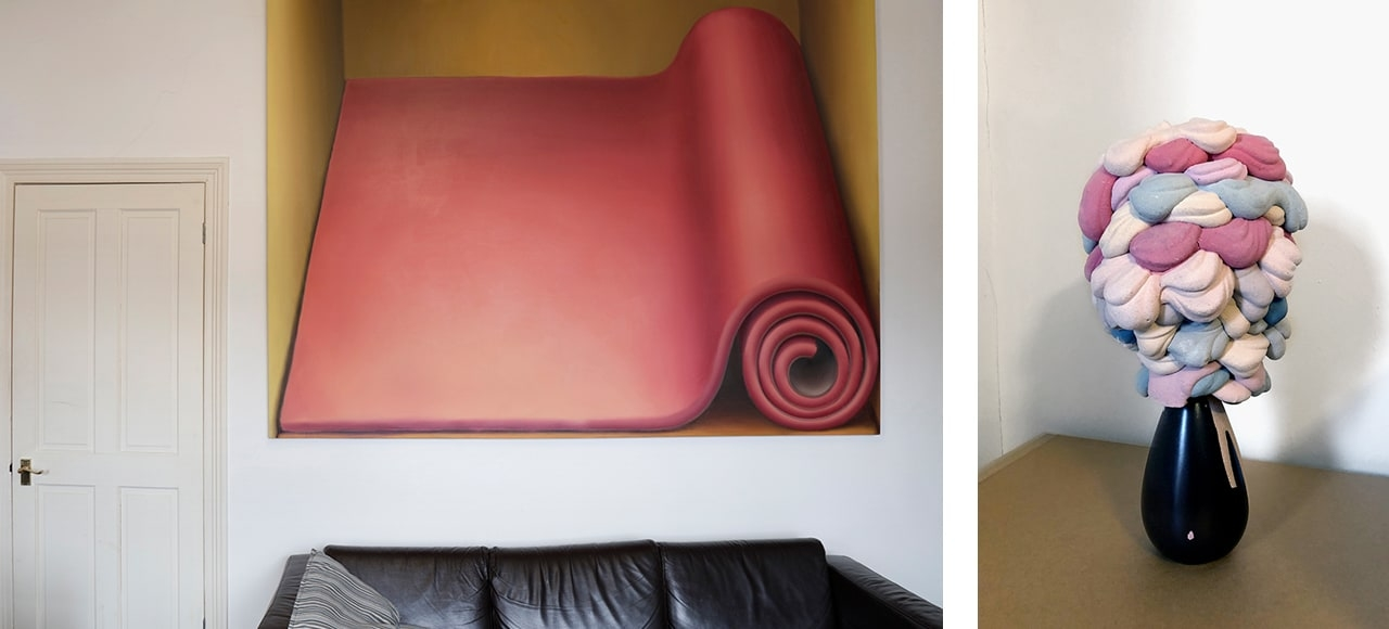 Matthew Draper, Carpet Roll and Andy Holden, Ornamite
