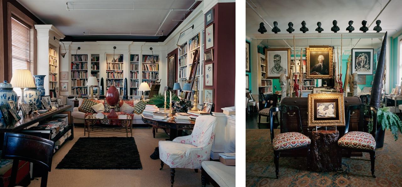 Sir John Richardson's beautiful apartment in New York