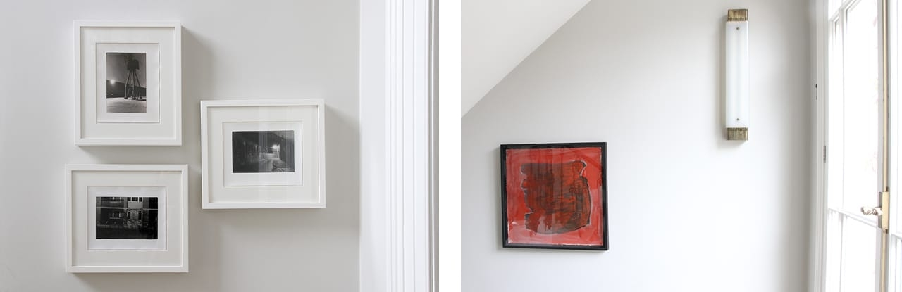 Left: Selection of photographs by Peter Marlow. Right: Work by Phyllida Barlow. Images: © Käthe Kroma