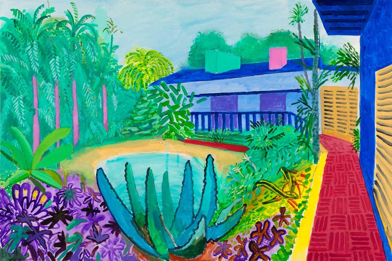 David Hockney, Garden, 2015