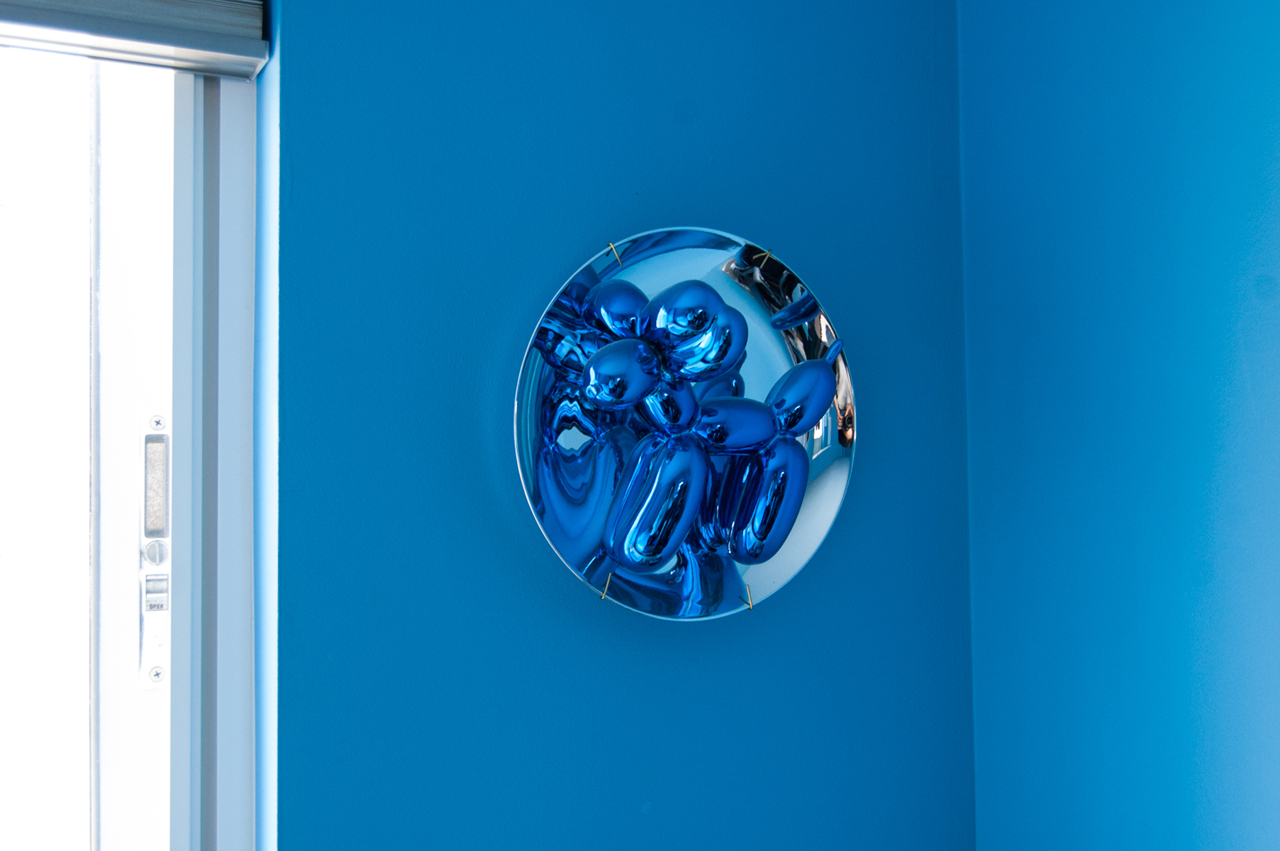 A Jeff Koons limited edition. Image: © Linda Green