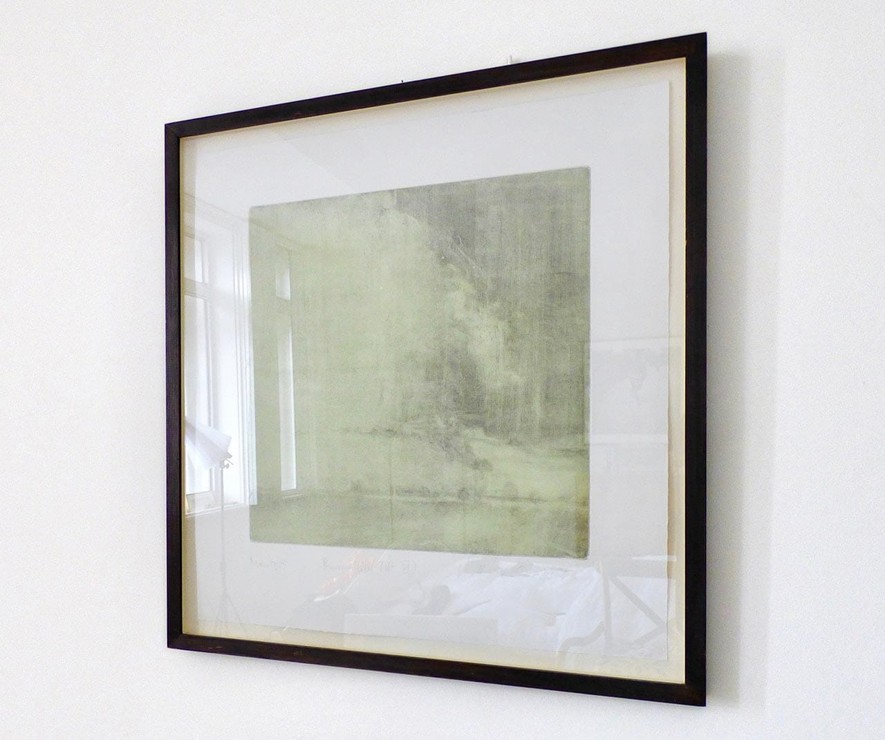 Kate Giles, Burrows Hill Tilt VI, Monotype