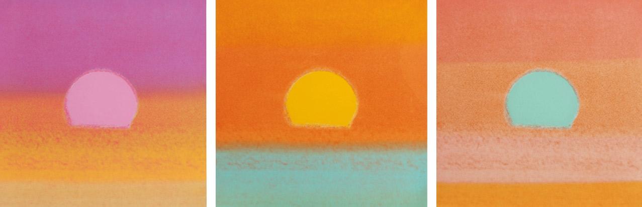 Andy Warhol, Sunsets, 1972