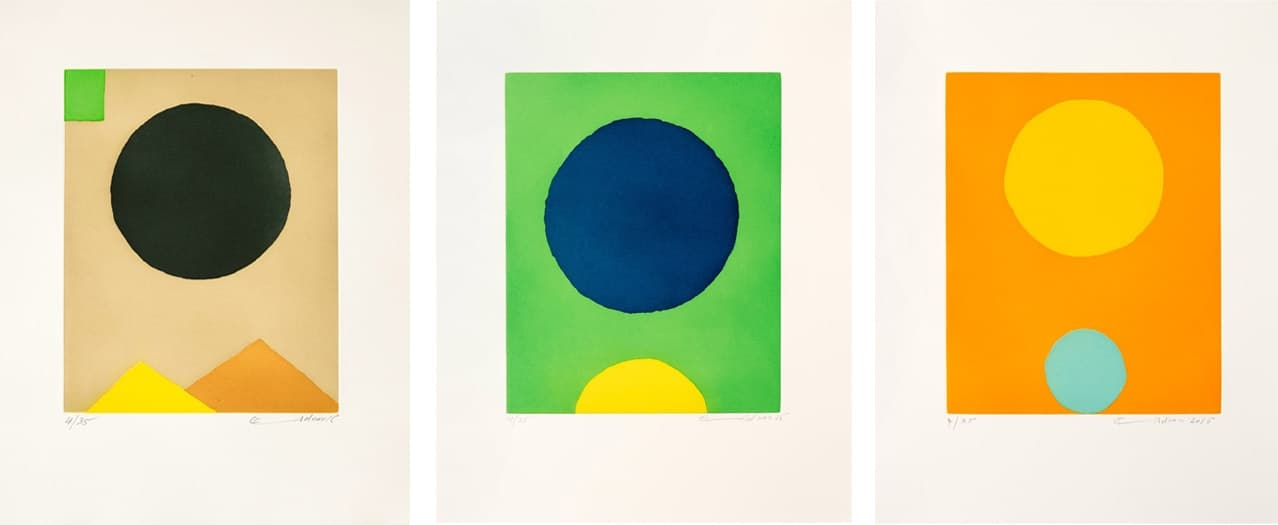Etel Adnan, Le Poids Du Monde available to buy on fineartmultiple