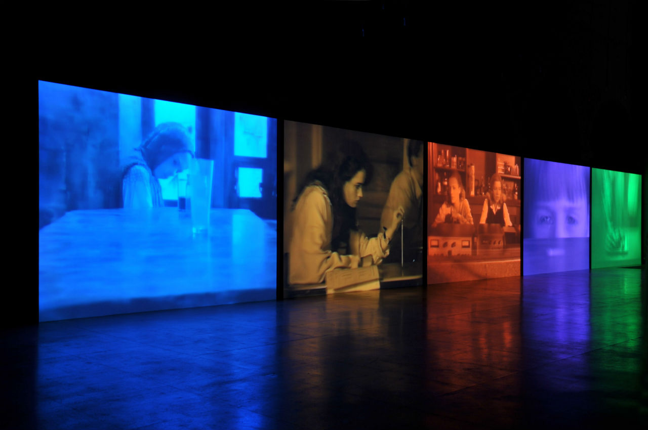 Susan Hiller, Psi Girls, 1999. Photo: Maria da Schio. Courtesy of Fondazione Ratti