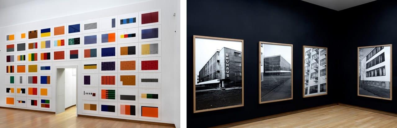 Installation Views of Günther Förg: A Fragile Beauty, 2018, Stedelijk Museum Amsterdam. Photos: Gert Jan van Rooij