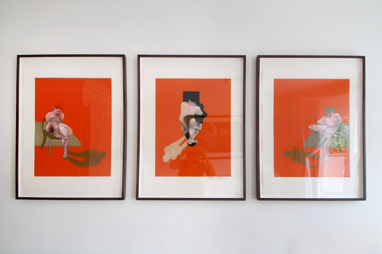 Francis Bacon, Triptych, 1983