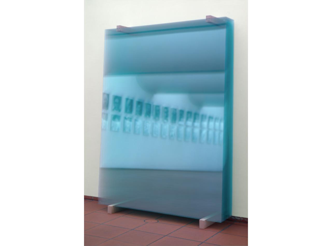Gerhard Richter, 11 Scheiben (11 Panes), 2003, Installation, 259 x 180 cm