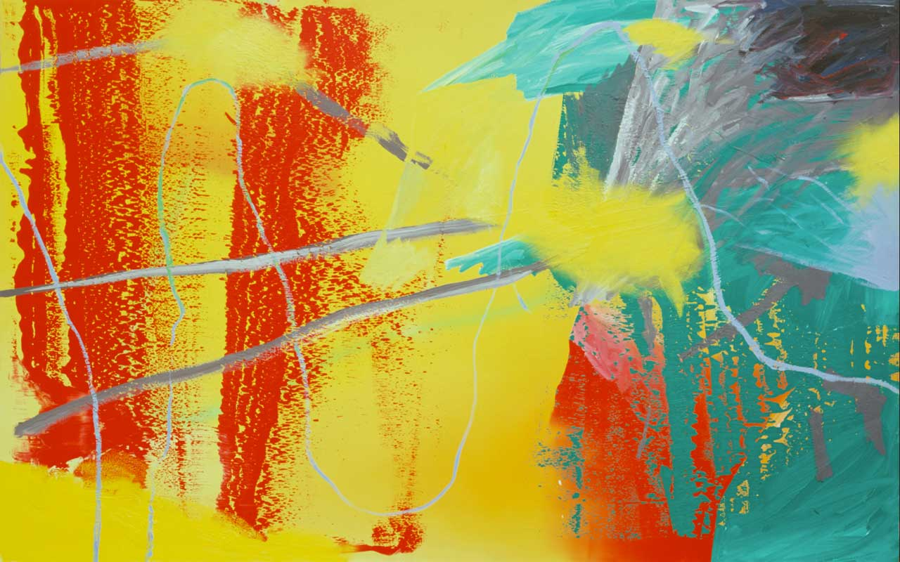 Gerhard Richter, Krieg (War) 1981, Oil on canvas, 200 x 320 cm