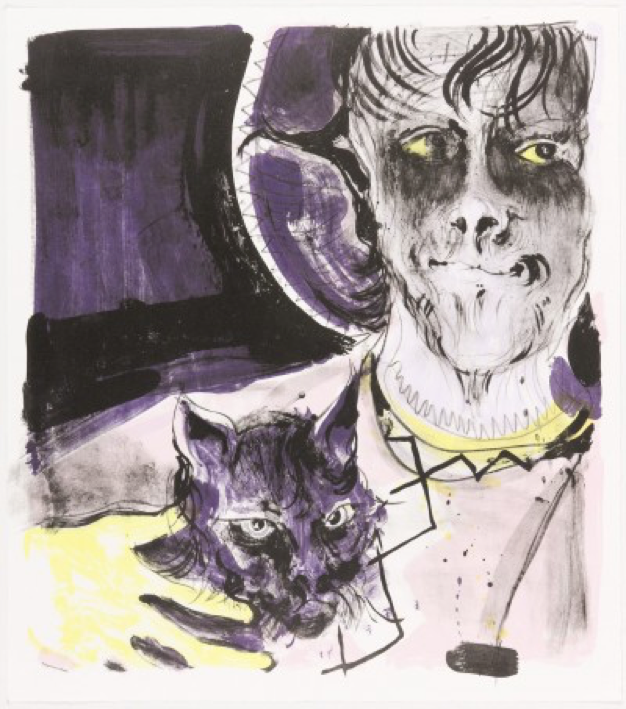 Gert and Uwe Tobias, Untitled, 2013, 4 stone lithograph