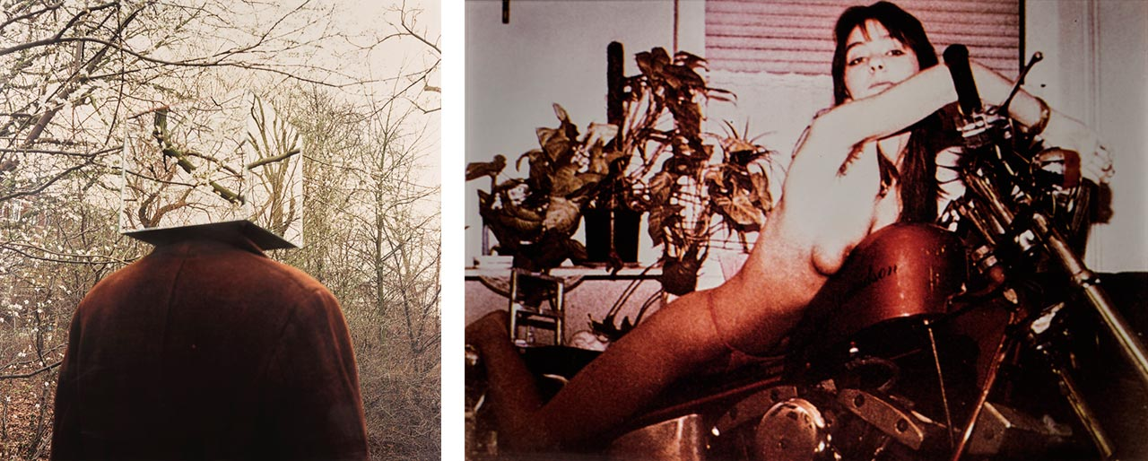 Job Koelewijn, Muts, 1992-95, and Richard Prince, Untitled (Girlfriend), 1993