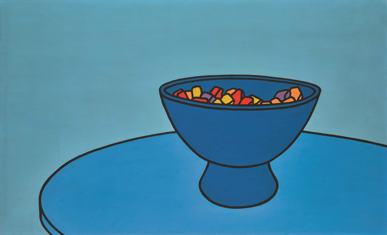 Patrick Caulfield, R.A. Sweet Bowl, 1966,  £300,000-500,000