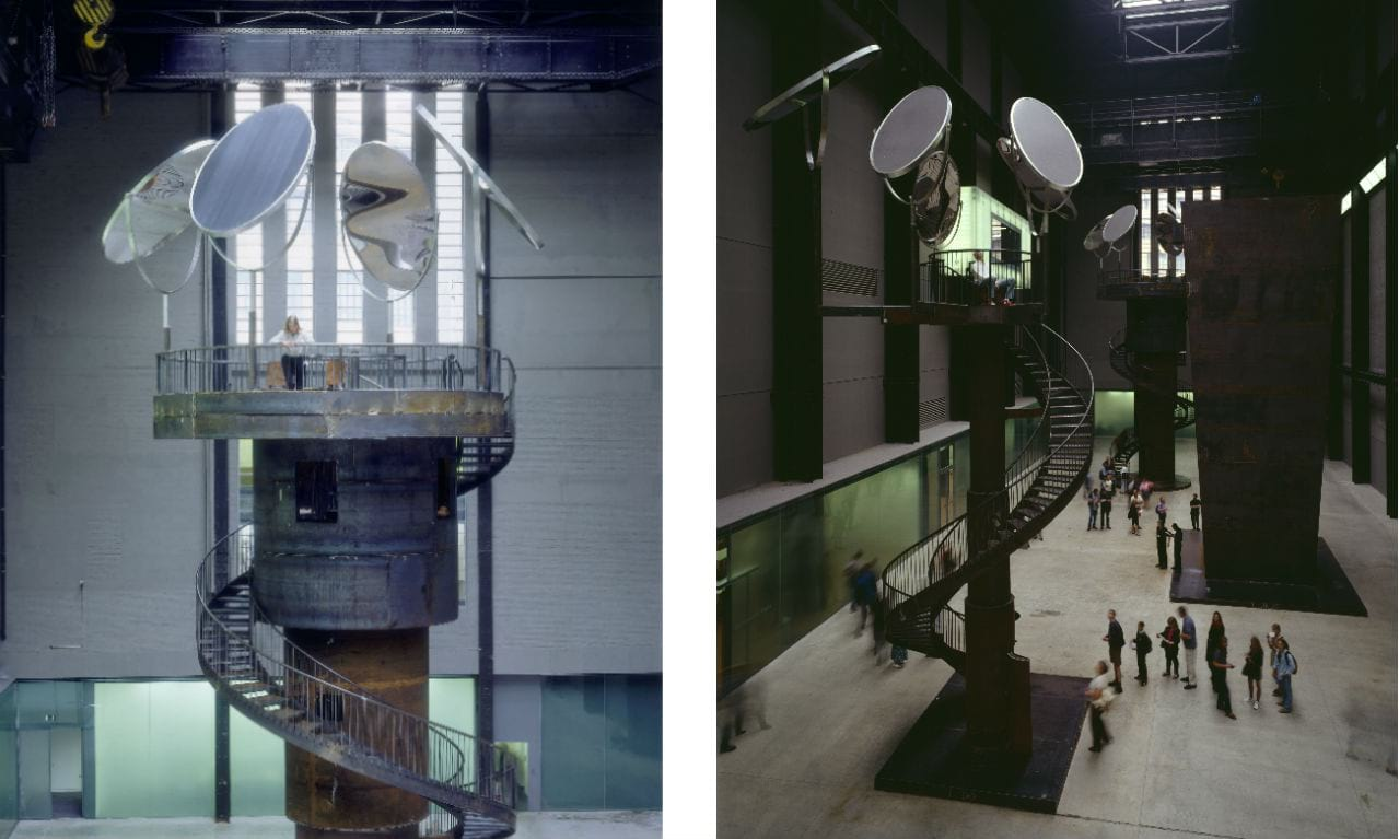 The Unilever Series: Louise Bourgeois, I Do, I Undo, I Redo, 2000. Photo: Tate Photography