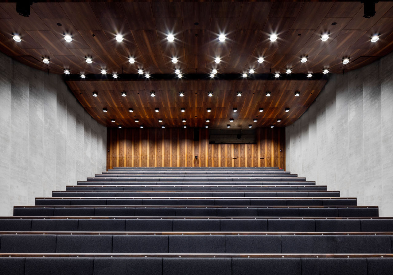 James Simon Gallery, Auditorium, © Ute Zscharnt for David Chipperfield Architects