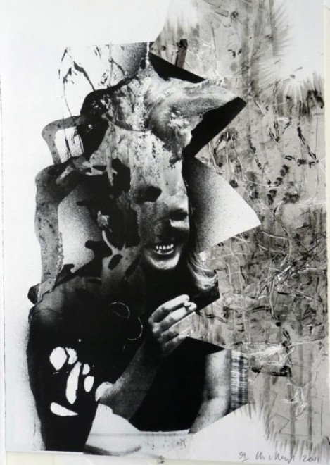 Charline von Heyl, Lacuna Lotto, 2011, Monotype