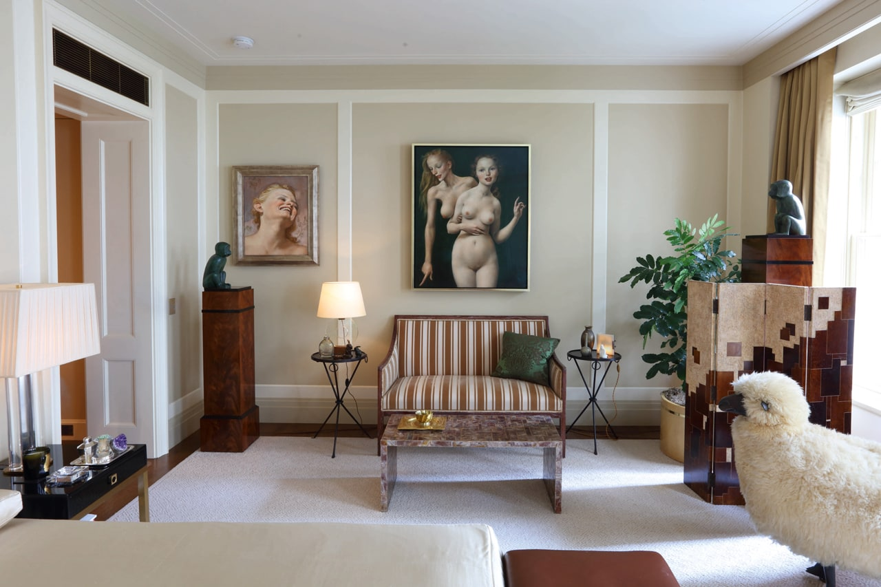 Marc Jacobs apartment. Image: Courtesy of Sotheby's