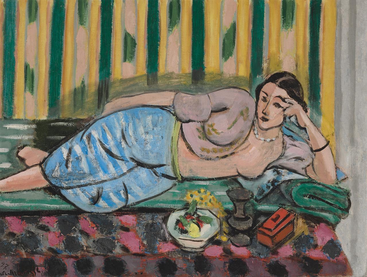 Henri Matisse, Odalisque au coffret rouge (Odaliske mit roter Schatulle), 1927. Musee Matisse, Nice. Legs de Madame Henri Matisse, 1960. Image: Succession H. Matisse / VG Bild-Kunst, Bonn, 2021