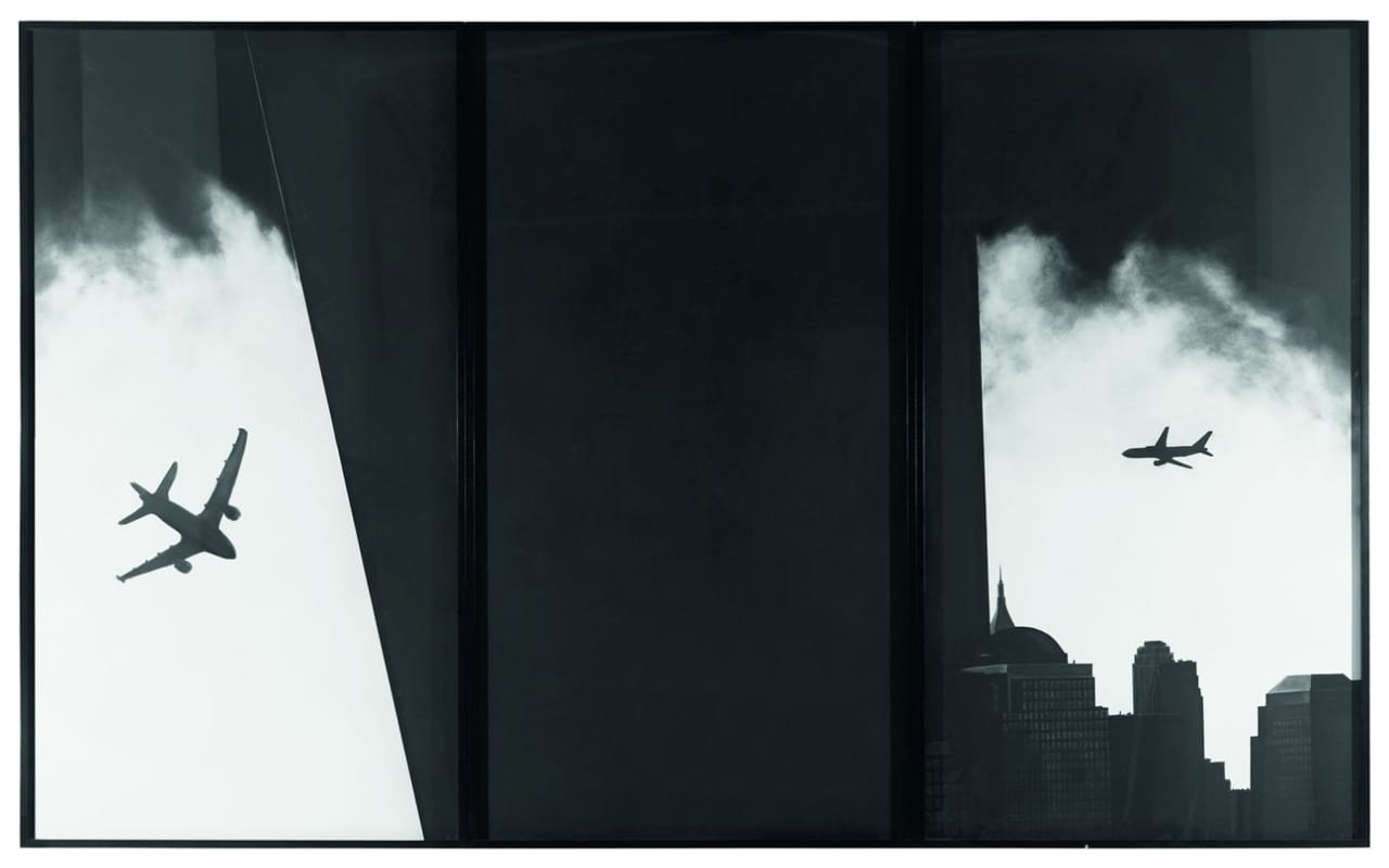 Robert Longo, The Haunting (Triptych), 2005