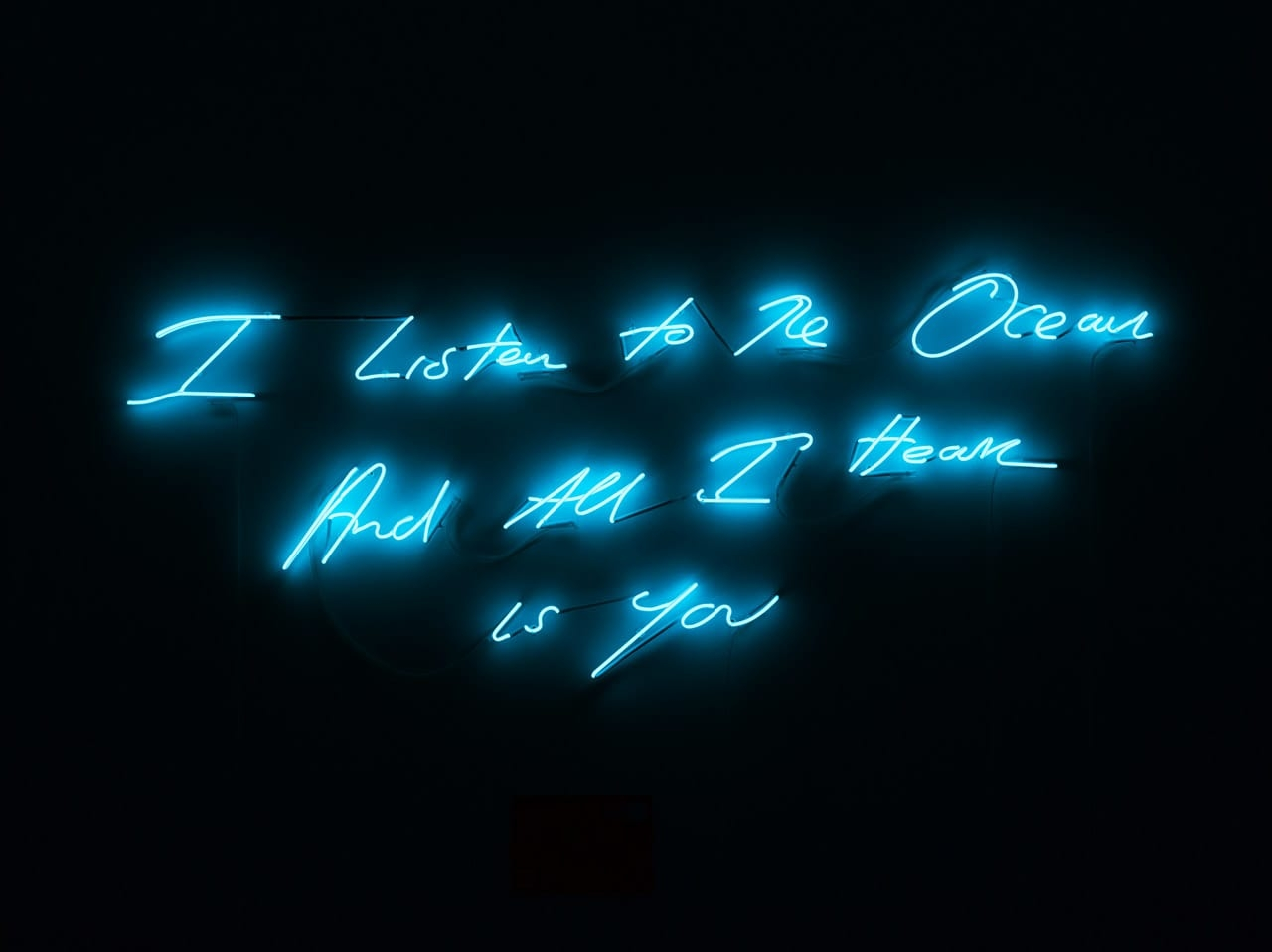 Tracey Emin, I Listen To The Ocean And All I Hear Is You, 2011, Digital Limited Edition. © Tracey Emin. Courtesy of www.seditionart.com