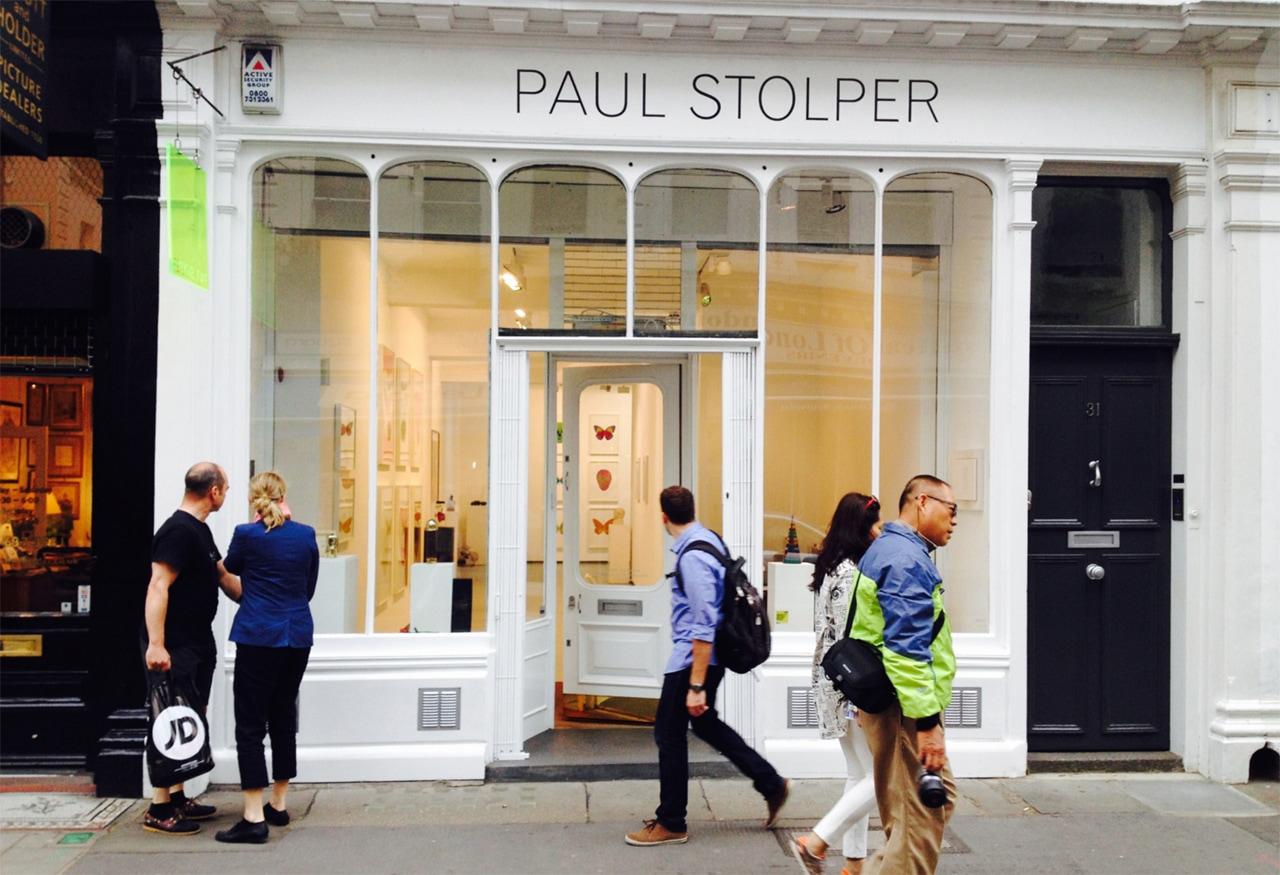 Paul Stolper Gallery, Museum Street, London