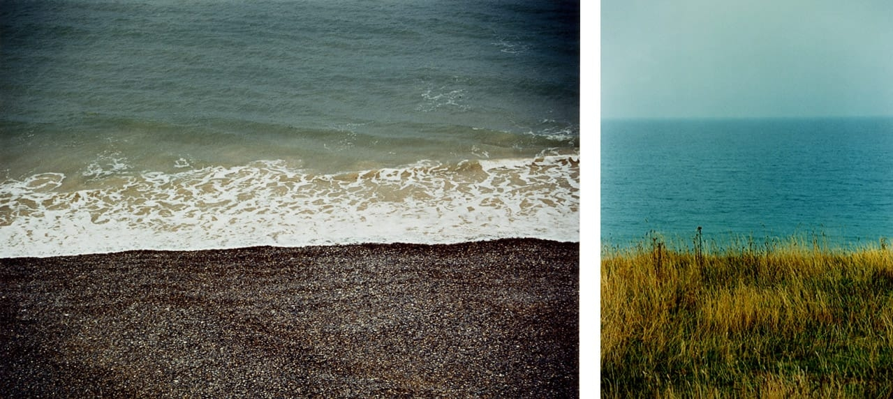 Left: Sean Scully, Landline, 1999. Right: Sean Scully, Land Sea Sky, 1999. Both © Sean Scully