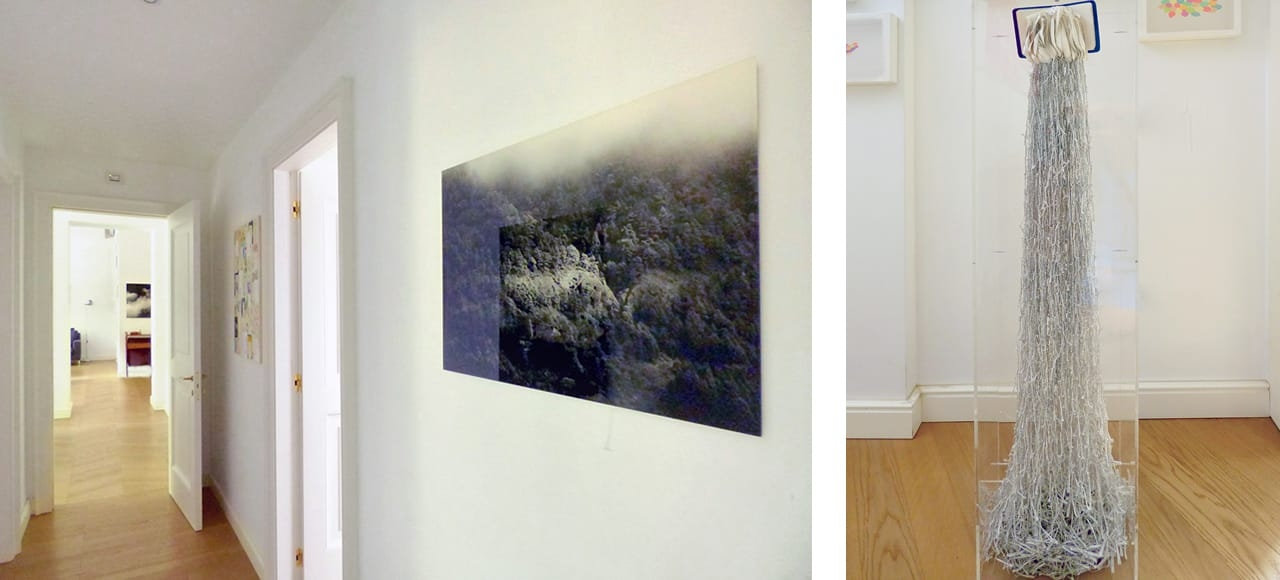 Left: Peter Schlör's Las Palomas. Right: Jukhee Kwon's From the book to the space.