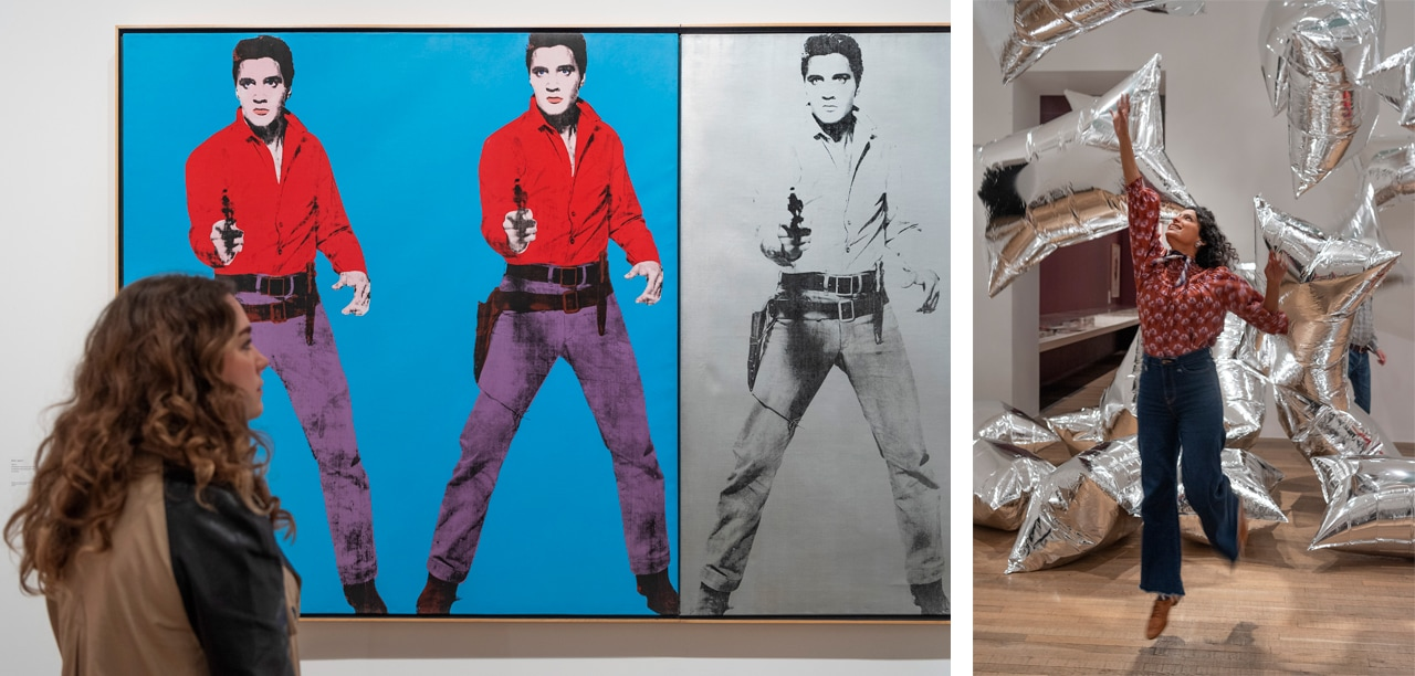 Andy Warhol', installation views, 2020, Tate Modern, London. Courtesy: the artist and Tate Modern, London; photography: Andrew Dunkley